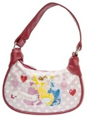 Girls Disney Princess Aurora, Belle and Cinderella Fashion Clutch Purse Handbag