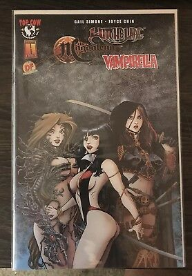 Witchblade Magdalena Vampirella DF Dynamic Forces Sealed Numbered Gail Simone