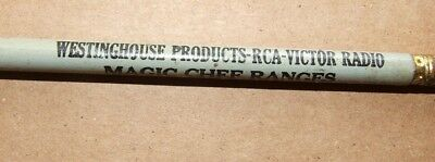 3 Way Advertising Pencil: Westinghouse Products, RCA Victor Radio, Magic Chef