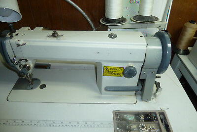 Industrial walking foot sewing machine M size bobbin (head Only)