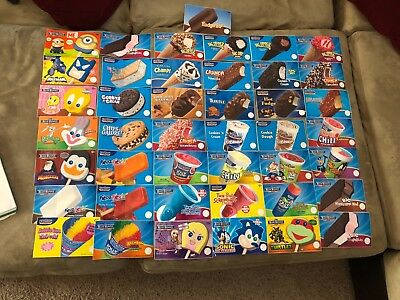 Two Ice Cream Truck Decal Sticker Blue Bunny BUGS BUNNY