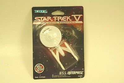 NEW *Sealed* STAR TREK V Movie Die Cast Mini ENTERPRISE 1701-A Ship ERTL