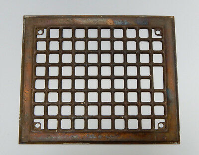 Antique Vent Grate 11 3/4 inches x 9 3/4 inches