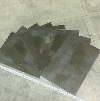 "10 pieces 24 gage 6"" x 4""+- stainless steel 430 plate metal sheet welding"