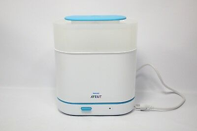 Philips AVENT 3-in-1 Electric Steam Sterilizer SCF284/05 - Preowned