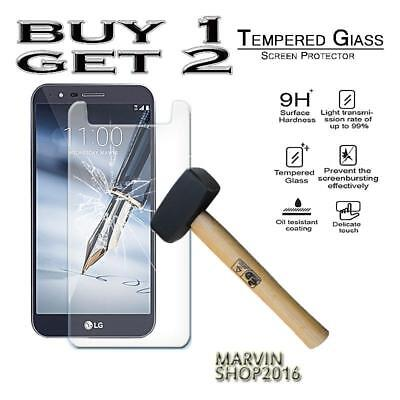 Genuine Tempered Glass Film Screen Protector Cover For LG Stylo 3 Plus