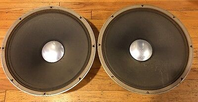 "JBL D130 ALNICO Woofers 16 Ohm 15"" ***PAIR**"