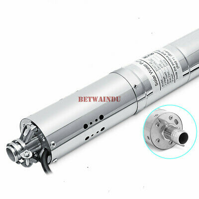 DC12V 3000L/H Stainless Steel DC Well Pump Submersible Solar Pump 20M Lift Max