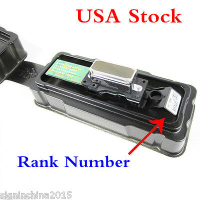 USA Stock-100% Original Epson DX4 Eco Solvent Printhead with Rank Number