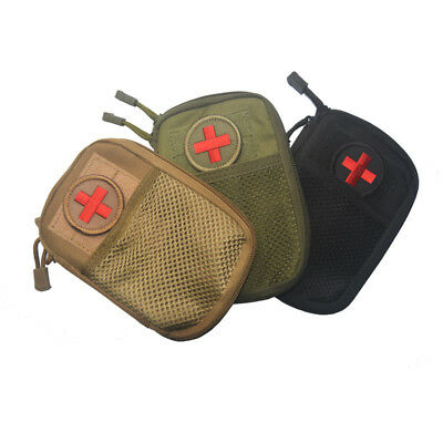 EDC Survival Tactical Molle Waist Bag Outdoor Travel Medical First Aid Kit
