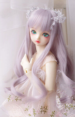 BJD wigs long curly hair long wig for 1/3 1/4 1/6 BJD SD doll wigs loose wave
