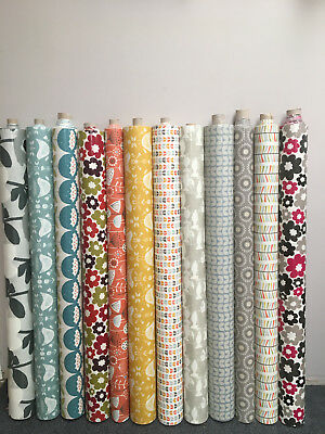 Scandinavian Style Oilcloth & Acrylic Tablecloths Wipe Clean Samples Available