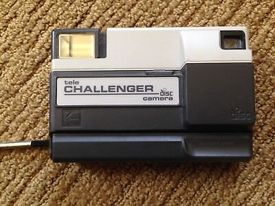 Kodak Tele-Challenger Disc Camera with manual and case