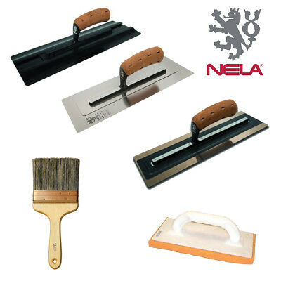 """Nela MAX Plastic Finishing System Set Carrier Handle and Trowel 14/"""""""