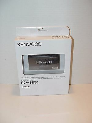 New Kenwood Kca-Sr50 Siriusconnect Adapter Universal Satellite Radio Tuner