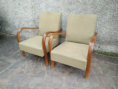 Coppia di poltrone design anni '50 vintage. Pair of 50s design armchairs