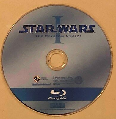 Star Wars Episode I through VI Blu-Ray Movies Choose One