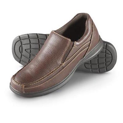 276dcce9102 Men s Dr. Scholl s Scholls Bounce Slip-on Loafer Shoes Leather Brown 7.5   NEW