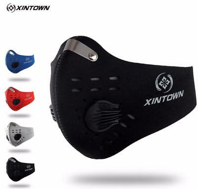 Workout Mask Running Sport Fitness Activated Carbon Dust-proof Shield