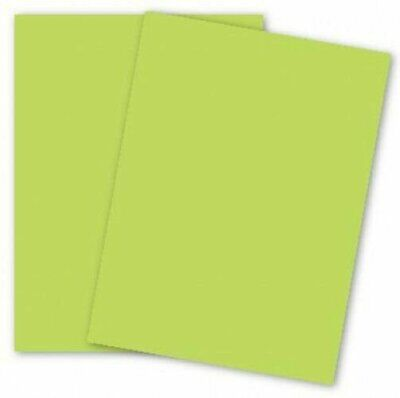 11 X 17 Card Stock Paper Meadow Green 65lb Cover 250 Pk Supply Mohawk Britehue