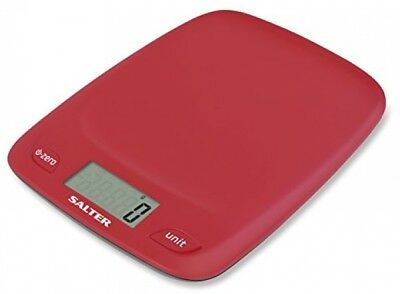Salter Digital Kitchen Scales - 5000g Electronic Food Weighing, Slim Design LCD