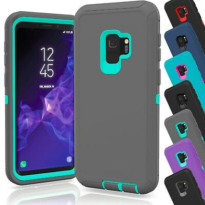 15 TPU Hard Defender Hybrid Case Cover Wholesale Lot For Samsung Galaxy S9 Plus