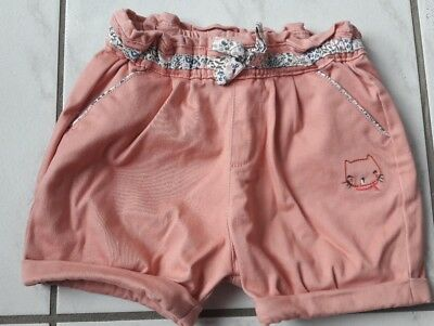 Sergent major fille taille 24mois short.