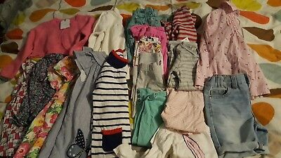 Bundle Girls Clothes Age 2-3 BNWT Next M&S H&M Summer Dresses John Lewis x 18