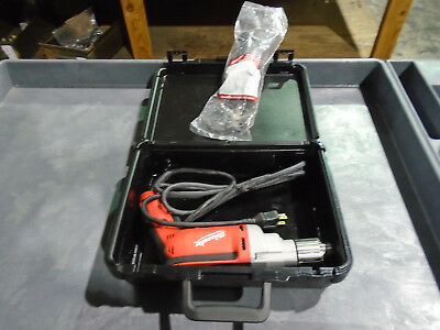 Milwaukee 0200-20 3/8 In. 7 A Magnum Drill 1200 RPM With Case