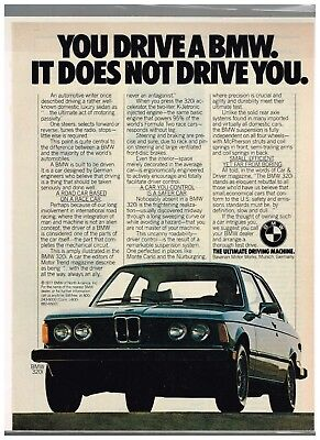 Old Vintage Magazine Ad For Bmw Nice Ad