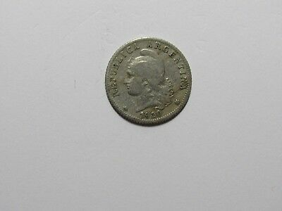 Old Argentina Coin - 1920 20 Centavos - Circulated