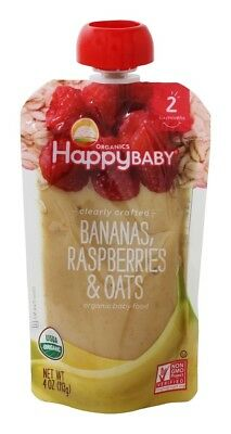 HappyFamily - HappyBaby Organic Clearly Crafted Stage 2 Baby Food 6+ Months