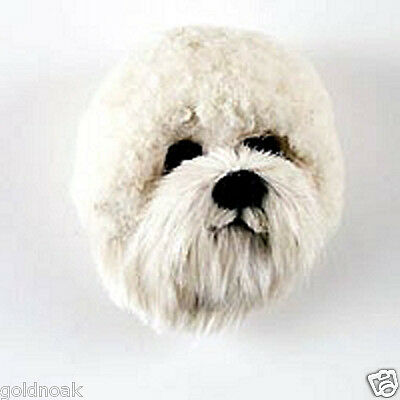 (1) BICHON FRISE DOG MAGNET! Very realistic collectible fur Magnets.