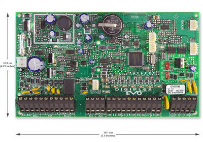 Paradox EVO192 Control Panel PCB Expandable to 192 zones