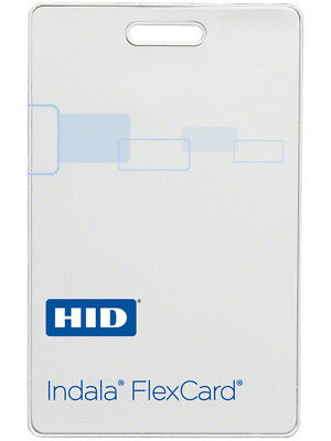 HID IND-FPCRD Indala Card - 10 Cards Flexcard; Proximity Clamshell Card