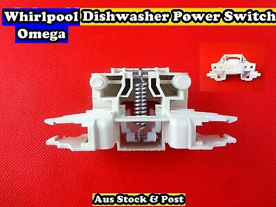 Whirlpool, Omega Dishwasher spare parts Power Switch Replacement (D60) Brand New