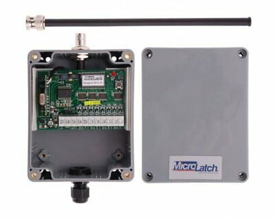 Microlatch REC 21 4 Channel Wiegand Receiver  in IP65 rated case