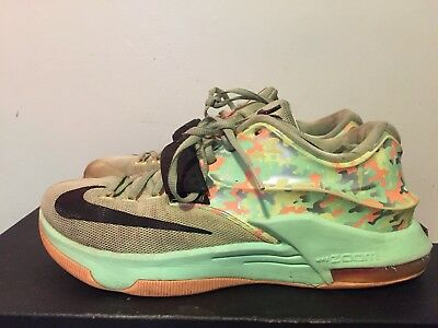low priced ae941 cc321 2015 MENS Nike KD VII 7 Easter Liquid Lime Black Vapor Green ...