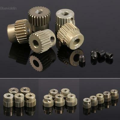 New 64DP 3.175mm Pinion Motor Gear Set for 1/10 RC Car Brushed Brushless BLLT