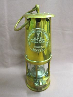Protector Lamp & Lighting Eccles Type 6 M  Safety Miner's Lamp Grubenlampe 17626