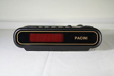 altes vintage Uhrenradio Wecker von Pacini RW-900 AM FM made in germany OVP