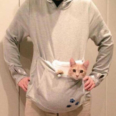 Hooded Pouch Cat Pet Multi-functional Baby Sleeping Removable Women's Hoodies