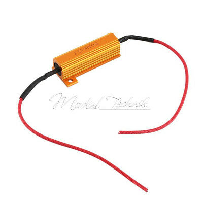 12V 50W 6 ohm load resistor for Car Indicator LED lamp With Two Cancellers M