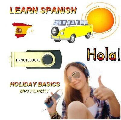 Learn How To Speak Spanish Language On Usb Use In Car / Any Mp3 Player