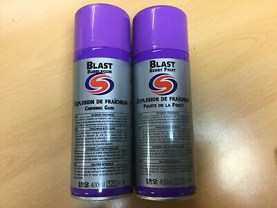 Autosmart Blast Duo - 1 x Bubble Gum and 1 x  Berry (Fruit of the Forest)