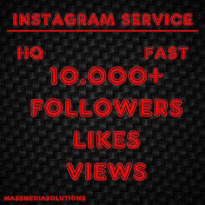 Instagram Service Follow | Fast Delivery | 100-10.000