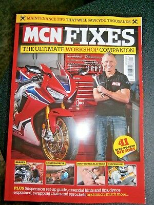 MCN Fixes Bookazine The Ultimate Workshop Companion  (new)