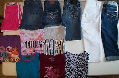 Girls Spring clothes lot size 10 Girls size 10 Justice Juicy Couture MISS ME