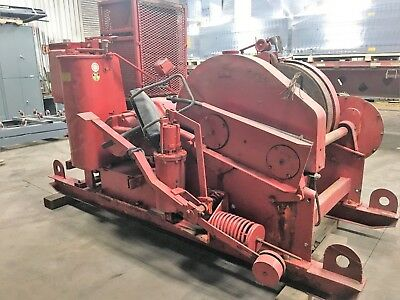 Euclid Electric Co Heavy Duty Electric Winch  220V/440V Clyde Ironworker