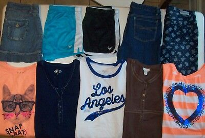 Girls Spring Clothes lot size 18 Girls size 18 Justice Limited Too Gap Justice